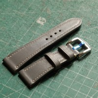 Handmade Leather Watchstrap (Italian Leather)
