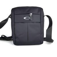Tas Pria Slimbag Bodybag Import Branded - OAKLEY TNMT BLACK