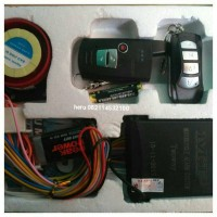 Jual alarm mp two way Yamaha nmax,pnp tinggal colok ke soket Murah