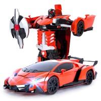 Mobil Remote Control / RC Transformation Robot Lamborghini Veneno