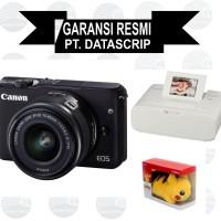 Canon EOS M10 Kit 15-45 mm black + CP 1200 White