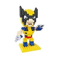 Jual Wolverine - Hsanhe 8105 - Mainan Mini Lego Nano Block Murah