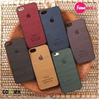 WOOD CASE / Casing - Case Hp / iPhone 4 4s 5 5s 6 / harga termurah