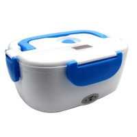 Jual Kotak Penghangat Makanan Electric Lunch Box - Biru Murah