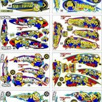 Sticker / Striping Variasi Thailook Animasi Ninja Rr New
