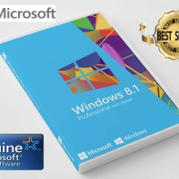 Jual Lisensi + COA Sticker Windows 8.1 Professional DVD Box (Free Win 10) Murah