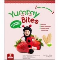 Jual Yummy Bites 6 Bulan Rasa Strawberry Murah