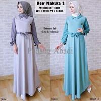 PROMO Baju Gamis Terbaru 2017 New Makuta 2 Baju Muslim Lebaran Wanita