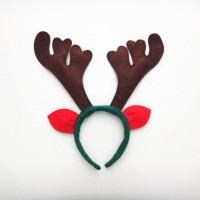Jual Promo   Bando Natal Tanduk Rusa Kuping Merah Bell Lonceng Merry Murah