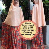 Gamis abaya maxi dress bergo kerudung syari baju muslimah GSA 10