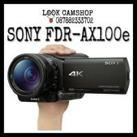 HANDYCAM CAMCORDER SONY FDR-AX100E SONY AX 100E AX100 E AX 100 E - 4K