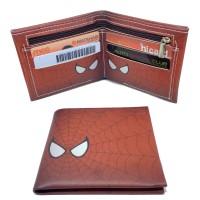 Jual Dompet Karakter Spiderman Anak Import Wallet Kulit Pria Cowok Marvel Murah