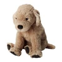 Boneka IKEA GOSIG Boneka Anjing Golden Retriever Mainan Anak