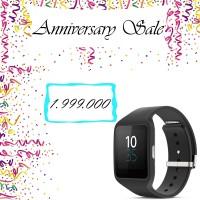 Jual Promo Sony SWR50 Smartwatch 3 Rubber Strap Hitam Murah