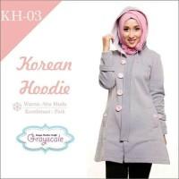 PRODUK BARU  Baju Korea Wanita Jaket Musim Dingin Muslimah Berhijab 04