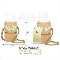 Jual Tas Selempang SLing Bag Slingbag Phone Fox Pocket Violet Hill Murah