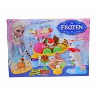 Mainan Lilin Frozen Ice Cream & Food Party Dough - Kado Anak Cewek