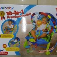 Jual sugar baby bouncer premium 10 in 1 rocker chair Murah
