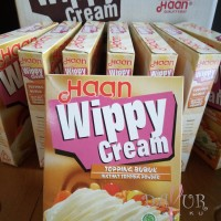 Wippy Cream Haan 200 gr/Whipped Cream/Instant Topping Powder/Whip/Haan