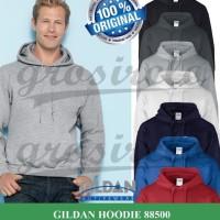 Jual Gildan Hoodie Sweater Polos Murah S-M-L-XL Terlaris Murah
