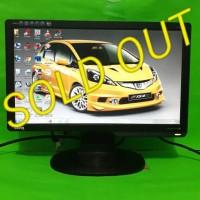 LCD Monitor Komputer Pc BenQ 16inch wide G610HDA