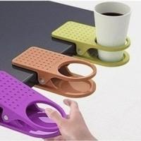 Jual GIC Plastic Table Coffee Cup Holder Clip DWW Murah
