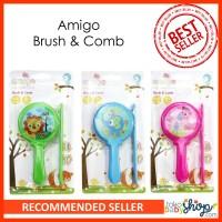 Sisir Bayi Amigo Brush and Comb