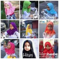 Jual Jilbab anak/pashmina instan busana muslimah/pashmina anak Murah
