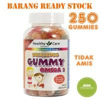 Jual Healthy Care Gummy Omega 3 Vitamin Anak - 250 gummies Murah