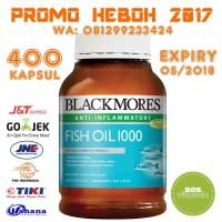 Jual Blackmores Fish Oil 1000mg Anti Inflammatory - 400 kapsul Murah