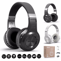Jual Headphone Bluedio H+ Turbine Bluetooth 4.1 SD Card + Radio FM Hifi Murah