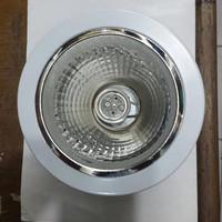 Downlight Plafond ISACOM ukuran 4 inch Warna Putih 3 kaki