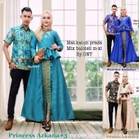 Couple Rok dan Blus Princes Azkana #3,baju pasangan,baju muslim,kemeja