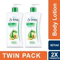 St. Ives Vitamin E & Avocado Hand and Body Lotion 621ml - Twin Pack