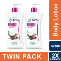 St. Ives Coconut & Orchid Hand and Body Lotion 621ml - Twin Pack