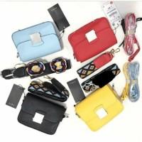 tas zara double strap floral sling mini bag original