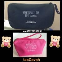 Grosir tas/pouch Kosmetik di indonesia (FREE SABLON)
