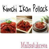 Jual Kimchi Pollack / Kimchi Ikan Pedas Import Korea Murah