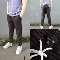 H&M Mens Jogger Sweatpants 100% Original Black ( FULL LABEL )
