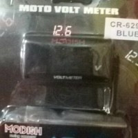 Voltmeter digital MODEL RIZOMA & KOSO Volt meter waterproof slim mini