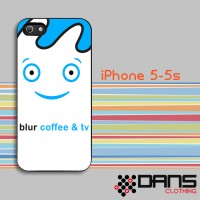 Jual iPhone Case - iPhone 5s Blur Coffee And TV Cover Murah