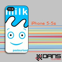 Jual iPhone Case - iPhone 5s Blur Coffee and TV Milk Carton Cover Murah