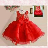 dress rok tutu natal anak Diskon