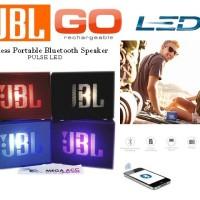 Wireless Portable Speaker JBL GO LED With Port Usb Tf Card Aux