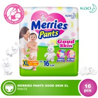 Jual MERRIES PANTS GOOD SKIN XL 16'S (KAO0815-8992727005449) Murah