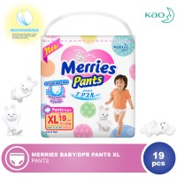 MERRIES Baby Diaper Pants XL 19s
