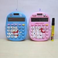 Kalkulator hello kitty & Doraemon 777