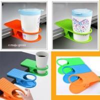 Jual Hot Item! Penjepit Gelas / Jepit Pegangan Cangkir Di Meja (Cup Clip) Murah