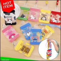 Jual Hot Item! Tag Kartu Nama Kalung Id Card Holder Kartun Lucu (Dot Bayi) Murah