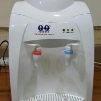 Dispenser Air Minum Meja Tabung Stainliss Steell QQ 1178 Panas &Normal